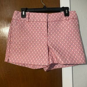 NWOT Geometric Patterned LOFT shorts